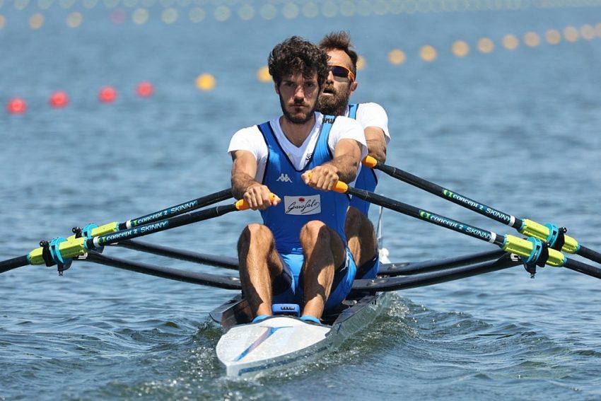 Ultimo raduno a Sabaudia prima delle Olimpiadi per l'atleta azzurro Stefano Oppo